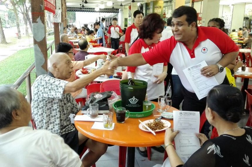 Mr Philemon was unveiled on Saturday at a walkabout in Bukit Batok.