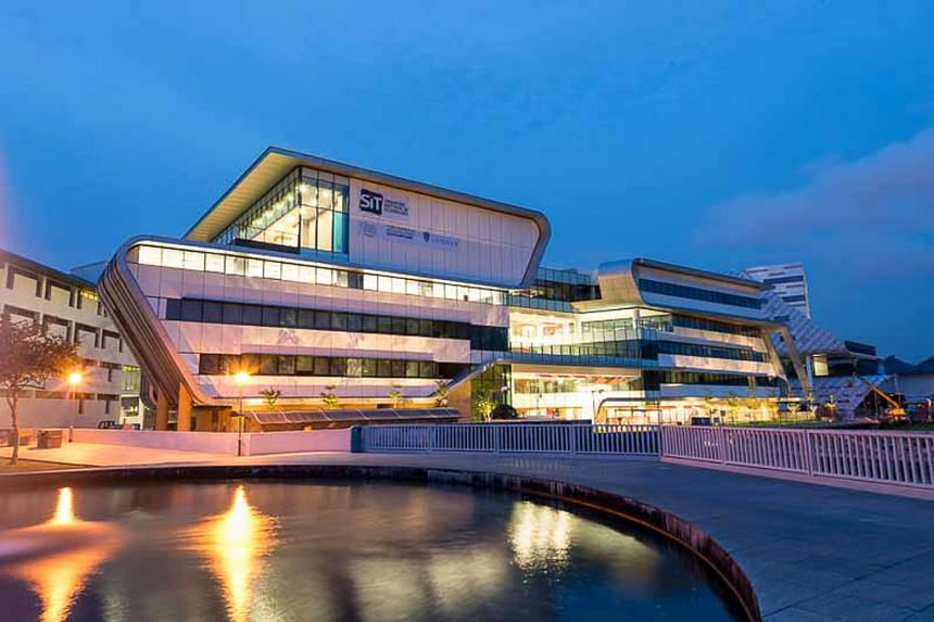 The Singapore Institute of Technology's (SIT) satellite buildings at Temasek Poly.