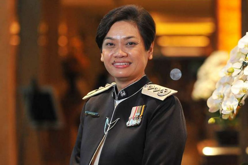 Fashion designer Priscilla Shunmugam, received Her World's Young Woman Achiever award, while Senior Assistant Commissioner of Police Zuraidah Abdullah (above) was named Woman of the Year.