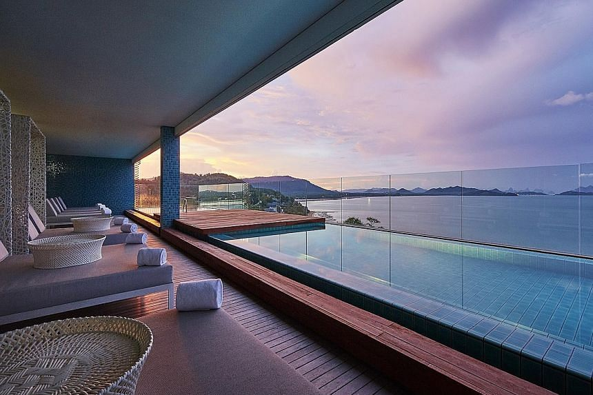 All rooms, suites and villas at Point Yamu by Como overlook the serene, glittering waters of Phang Nga Bay.