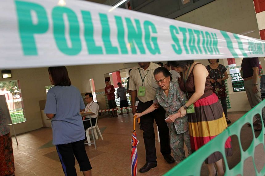 """Prime Minister Lee Hsien Loong said he would be calling a general election """"soon"""", but stopped short of giving a fixed date."""