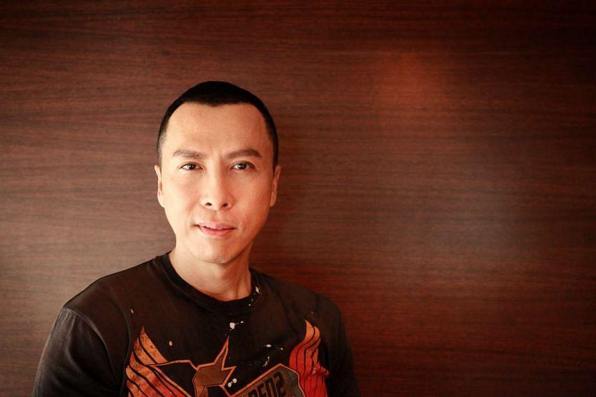 Hong Kong actor and marital artist Donnie Yen.