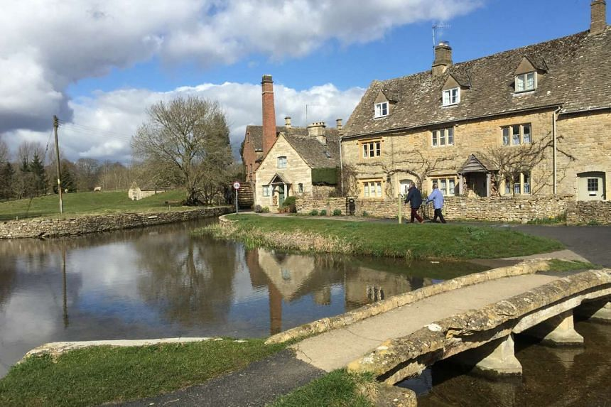 The Old Mill (above) in Lower Slaughter is a lovingly restored flour mill. Part of the mill has been turned into a shop and ice cream parlour.