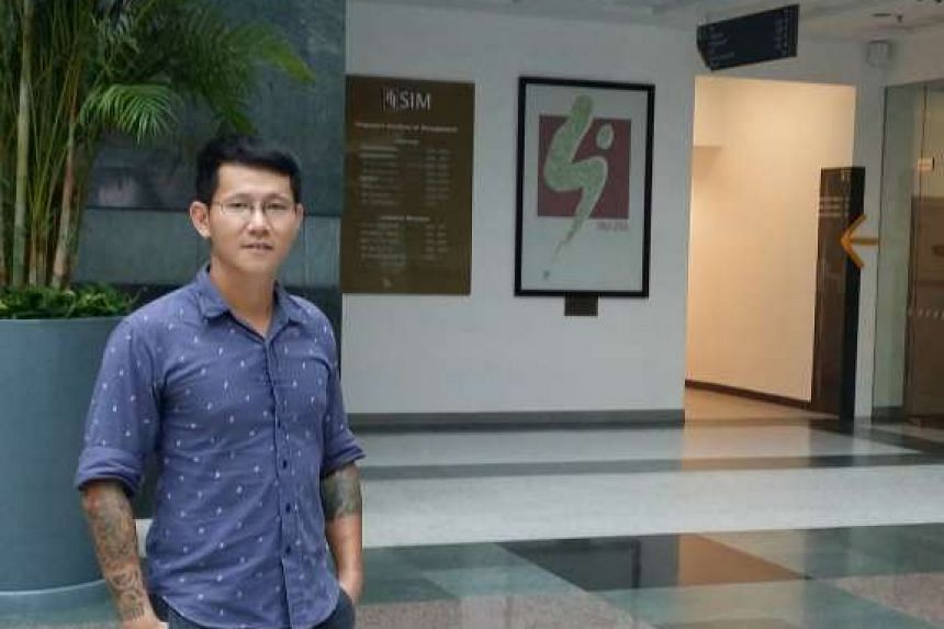 Mr Ang hopes to teach at the Prison School after he gets his degree in mathematics from UniSIM.