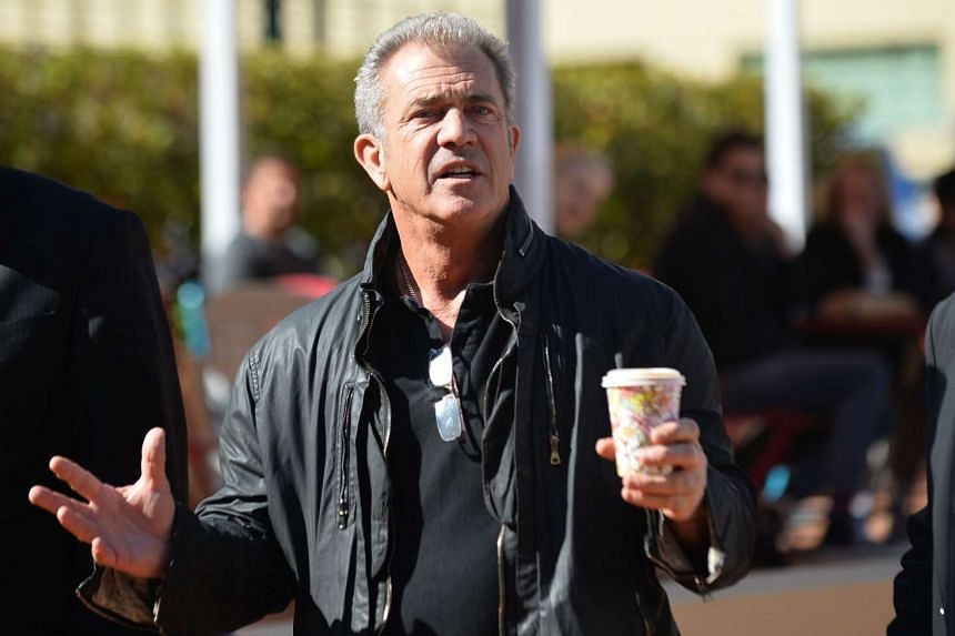 Actor and director Mel Gibson arrives at Fox Studios in Sydney on Jul 30, 2015.