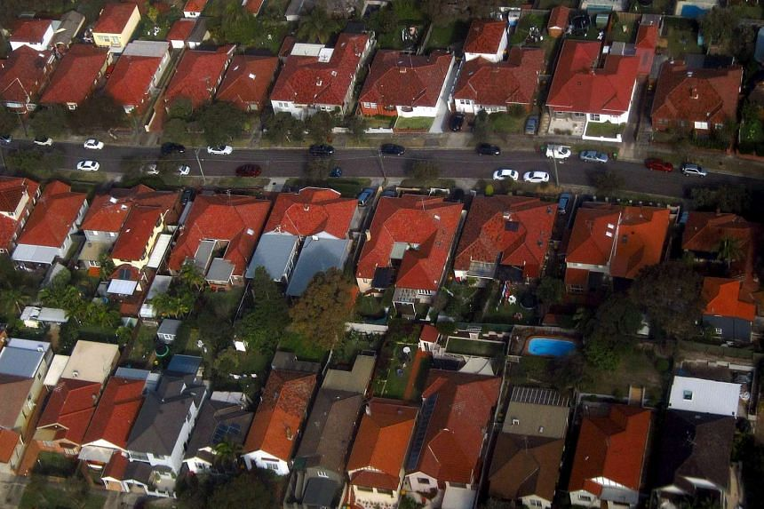 Homes in the Sydney suburb of Clovelly, Australia.