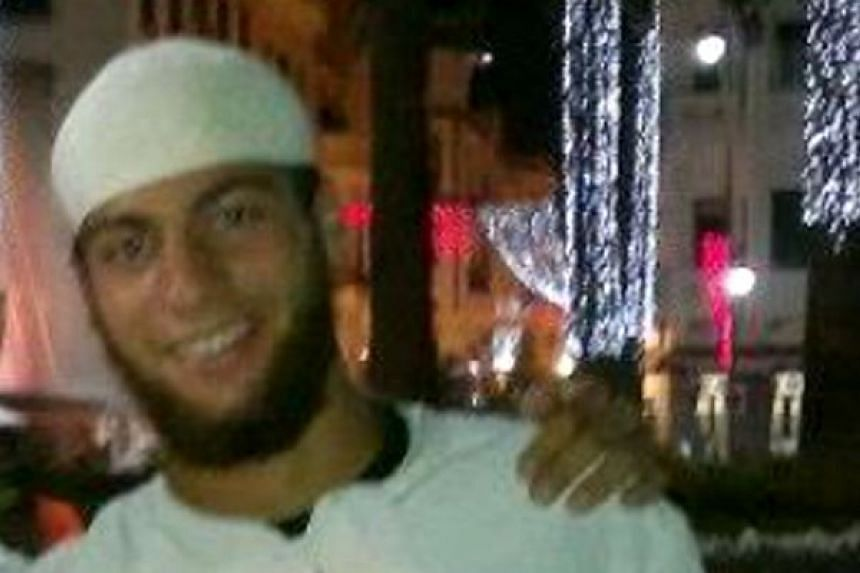 An undated photo released by a social network shows 25-year-old Moroccan suspect Ayoub El Khazzani. He was overpowered by passengers before he could kill anyone during an attack aboard an Amsterdam-Paris Thalys train on Aug 21, 2015.