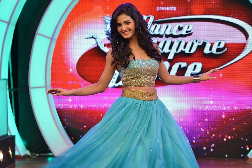 """""""In India, it would be mostly Indians who participate, but in Singapore,we had Japanese and South Africans auditioning. It really is a melting pot there and that makes the show interesting."""" — SHAKTI MOHAN (above), a judge on Dance Singapore Dance"""