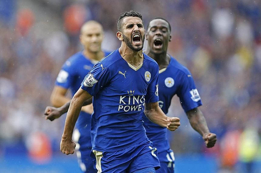 Leicester City forward Riyad Mahrez maintained his sparkling start to the EPL season with another superb strike on Saturday against Tottenham. It is the Algerian international's fourth goal of the campaign.