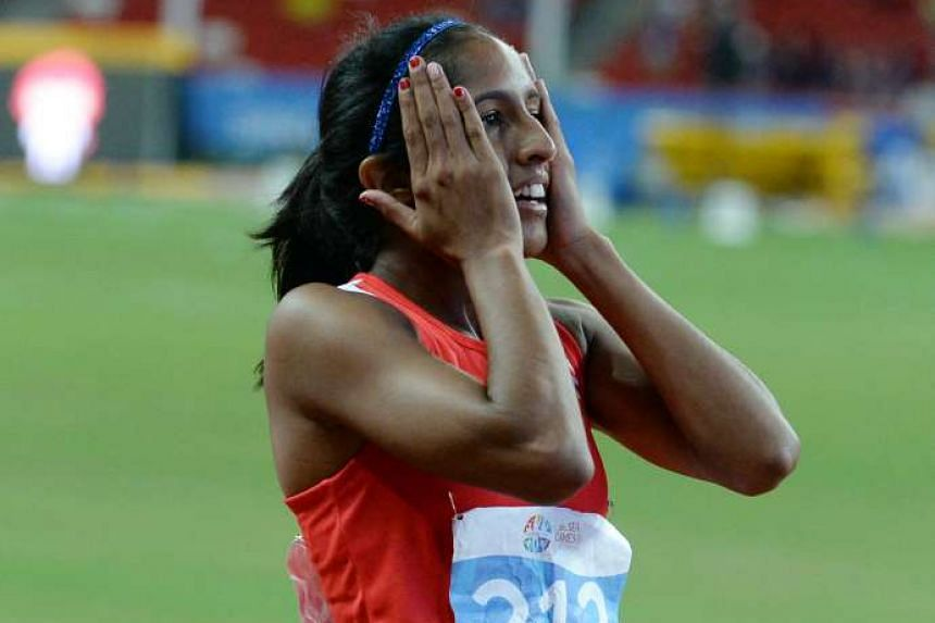Shanti Pereira will hope to better her personal best in the 200m at the World Championships.