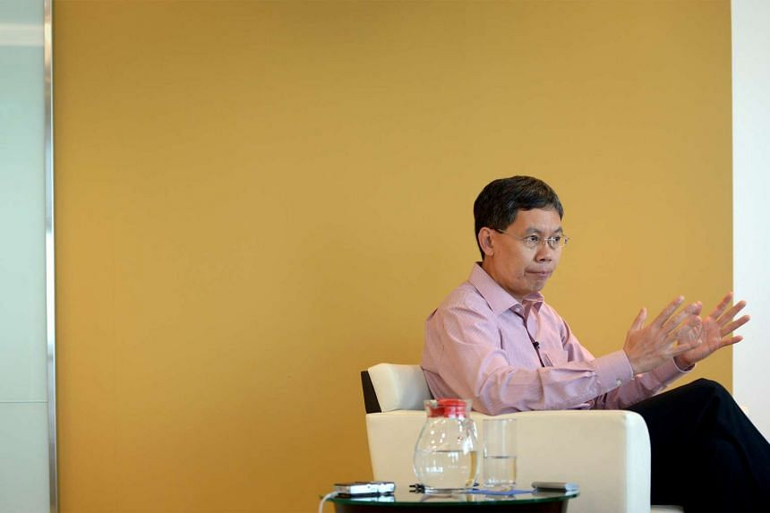 Transport minister Lui Tuck Yew.