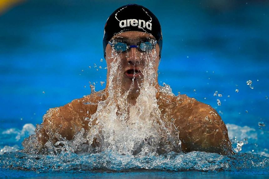 Russia's Anton Chupkov at the 2015 European Games on June 25, 2015. PHOTO: AFP