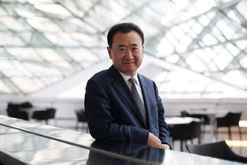 Billionaire Wang Jianlin, chairman and president of Dalian Wanda Group, poses for a portrait at the World Economic Forum Annual Meeting Of The New Champions in Dalian, China, on Sept 11, 2013.