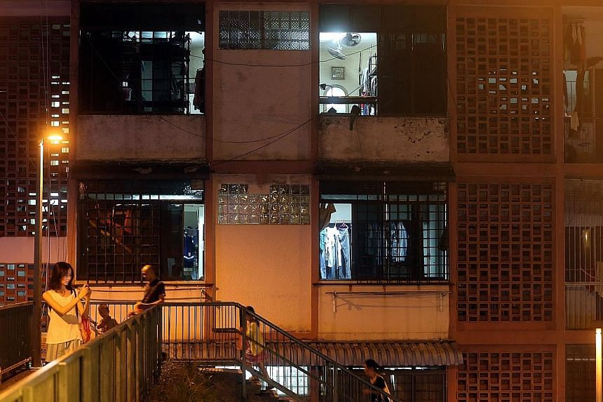 Checks by The Straits Times show foreign workers are continuing to live in homes in Geylang which have been illegally converted into dormitories. They often run fire safety risks.