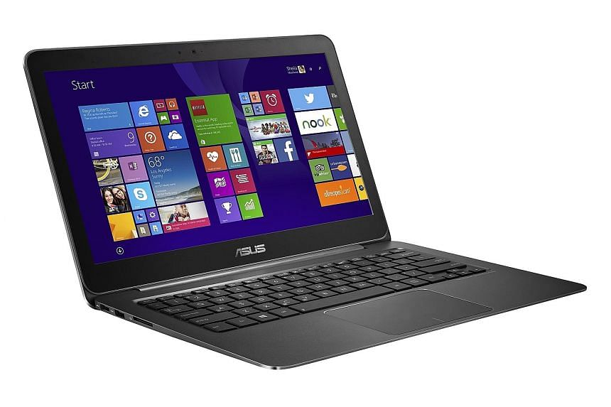 The Asus ZenBook UX305 comes preloaded with Windows 8.1, but the reviewer could upgrade it to Windows 10 without trouble.