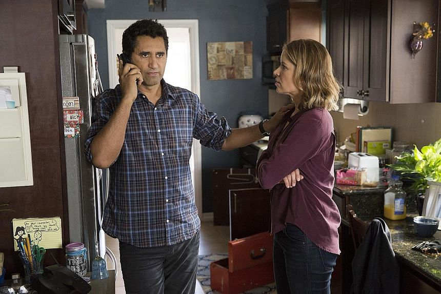 Kim Dickens plays a high school guidance counsellor with Cliff Curtis as her boyfriend.