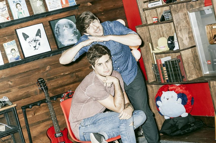 Netflix has licensed a full-length feature film from YouTube duo, Smosh, featuring comedians Ian Hecox (above) and Anthony Padilla.