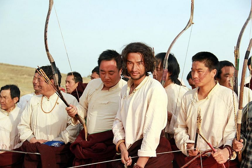 The Sacred Arrow (2014, above) by Pema Tseden, one of the leading film-makers in Tibet.