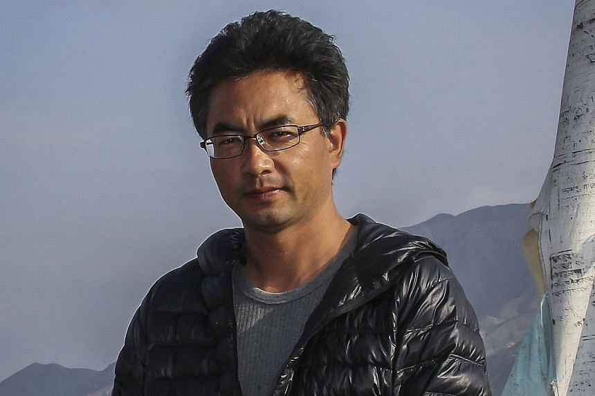 The Sacred Arrow (2014, left) by Pema Tseden (above), one of the leading film-makers in Tibet.