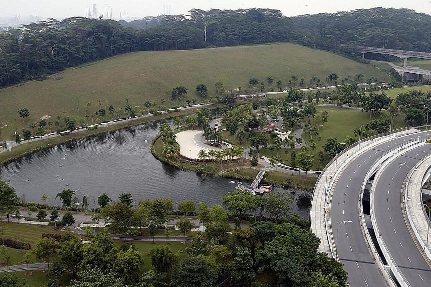The Singapore Institute of Technology's centralised campus will be built on a site behind the Punggol Waterway. Experts say Punggol is a natural choice for the new campus as the estate is one of the few left in Singapore with enough space to accommod