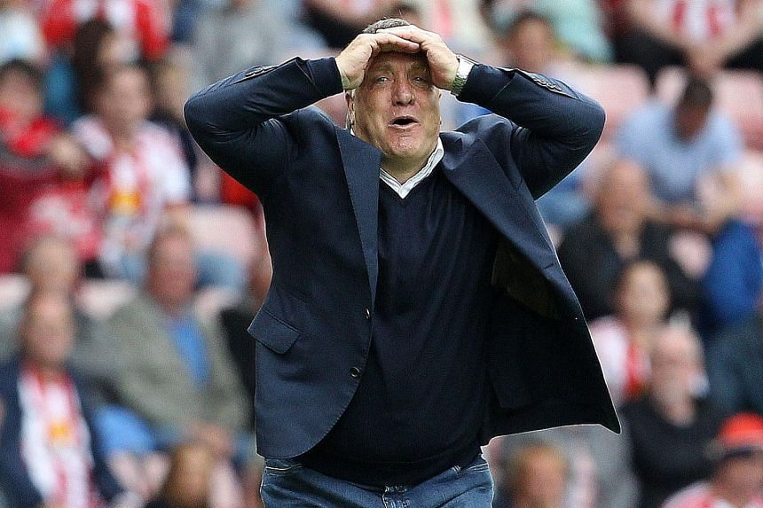Dick Advocaat has found nothing much to be pleased about so far, with Sunderland gaining only one point from three league matches.