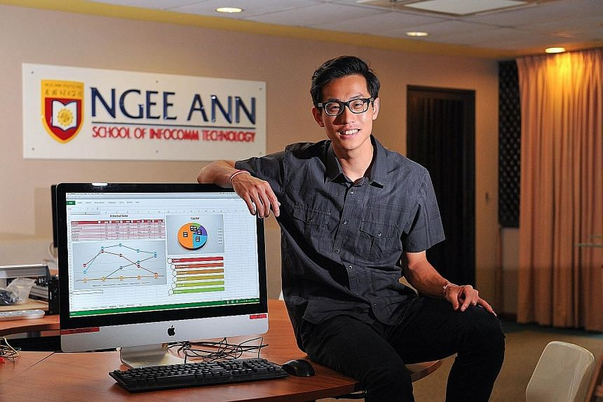 Mr Elliot Tan, 20, needed only 40 minutes out of the allotted 50 to solve the problem and double-check his work at the Microsoft Office Specialist World Championship.