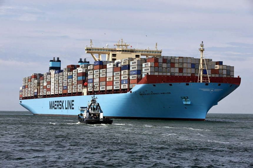 A file picture of a Maersk container ship. PHOTO: REUTERS