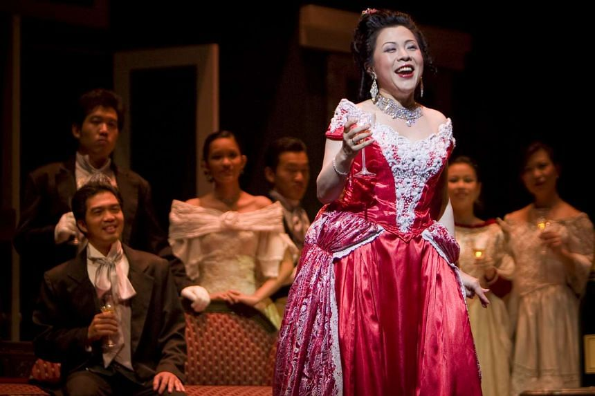 Soprano Nancy Yuen (seen performing the role of Violetta in Verdi's La Traviata) has been appointed the Singapore Lyric Opera's first honorary artistic director.