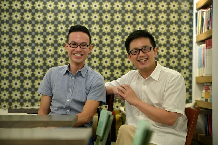 The Select Centre, a new arts non-profit organisation aimed at promoting translation and intercultural efforts, is co-founded by former Arts House director William Phuan (left) and Select Books director Tan Dan Feng.