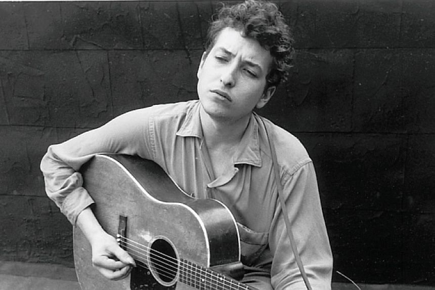 The young Bob Dylan pictured in the early 1960s around the time he wrote A Hard Rain's A-Gonna Fall.