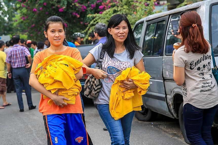 Bersih T-shirts are being snapped up in the run-up to this weekend's rally, which aims to press for democratic reforms and Prime Minister Najib Razak's resignation over controversial political funding.