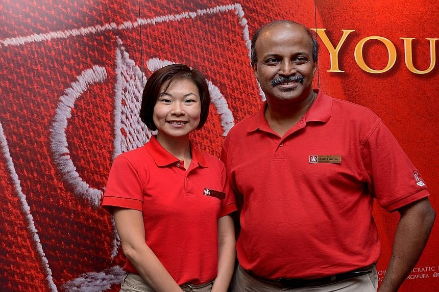 """With the introduction of Ms Jaslyn Go and Dr Paul Tambyah yesterday, the Singapore Democratic Party has named four of its 11 candidates. Ms Go spoke about the stressful education system, while Dr Tambyah said the healthcare system is """"really, really"""