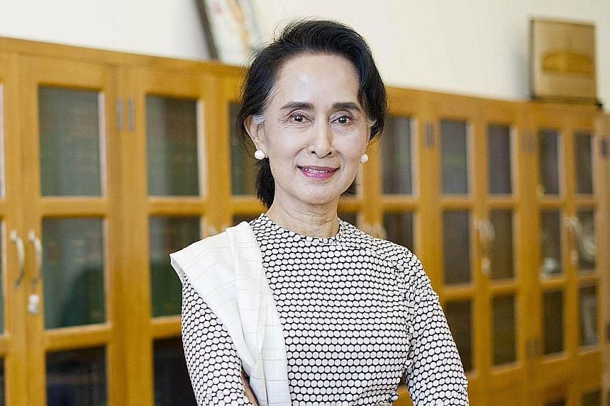 Ms Aung San Suu Kyi said that her long-cloistered country, Myanmar, still has a long way before it can be called democratic.