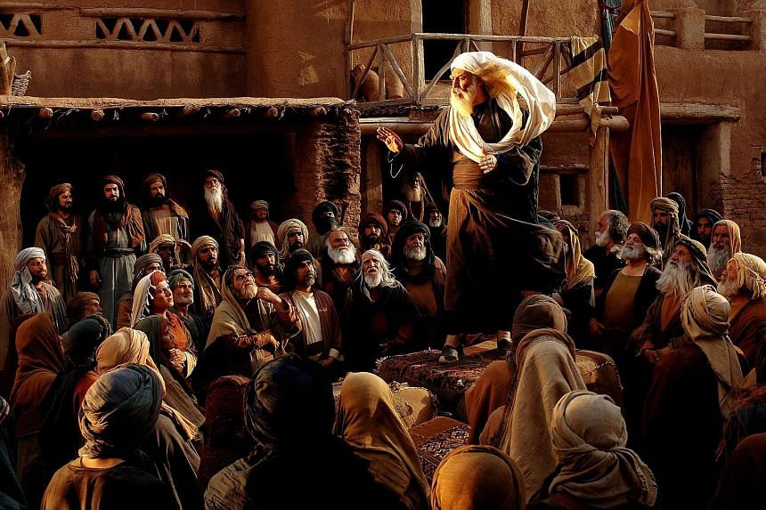 The multi-million-dollar film Muhammad depicts events before the birth of the Prophet and up to his teenage years. The production took more than seven years to complete and stars top Iranian actors.