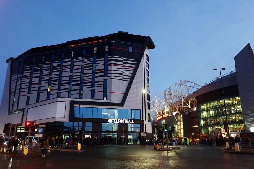 The Hotel Football at Old Trafford, in Manchester.