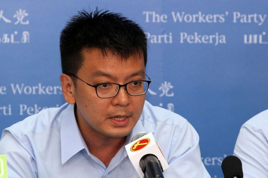 Mr Daniel Goh Pei Siong, one of the four candidates unveiled at the first Workers' Party press conference for General Election 2015.