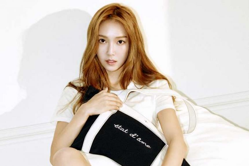 Now based in Korea, Jung has been busy helming her fashion label Blanc & Eclare.
