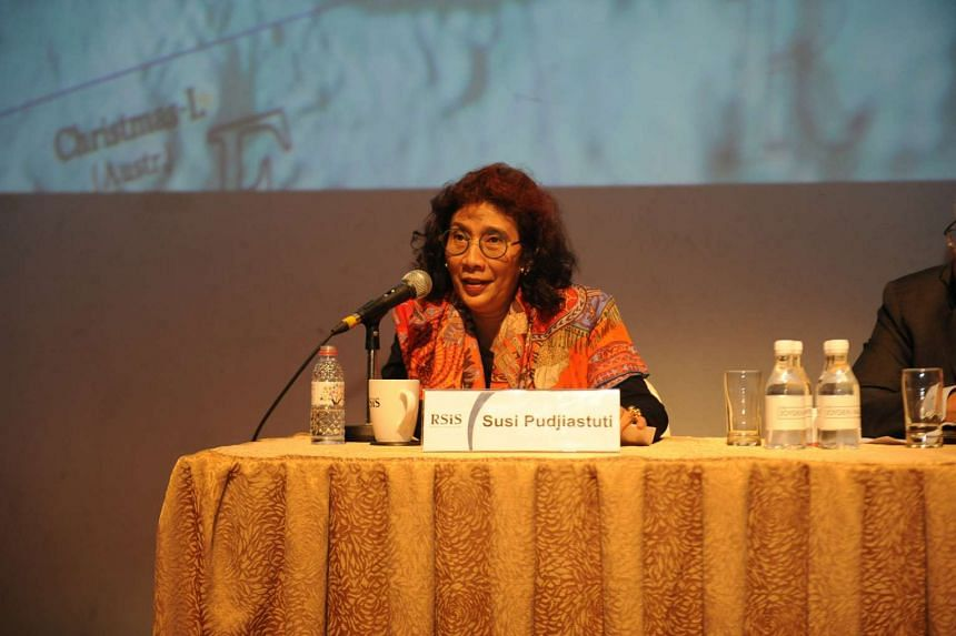 Ms Susi was in Singapore to deliver a public lecture, organised by the S. Rajaratnam School of International Studies (RSIS).