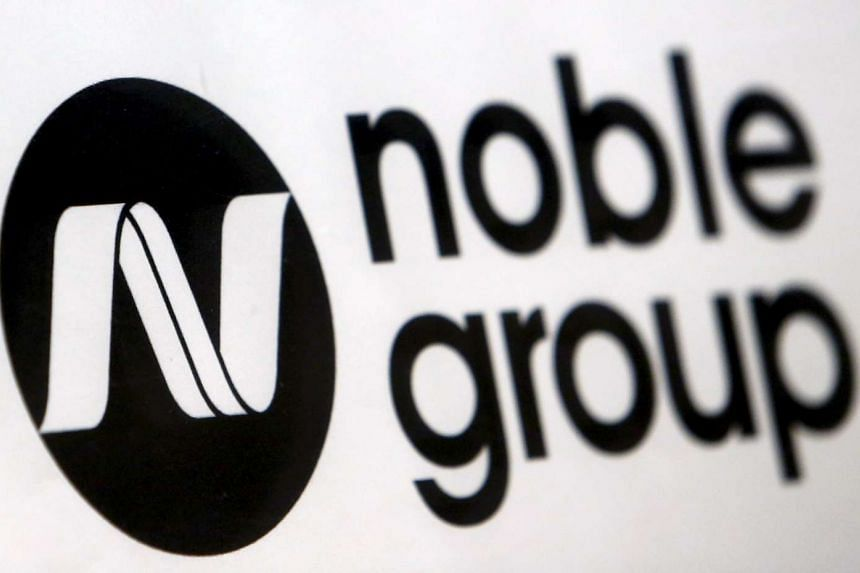 Noble climbed 14 per cent to 51.5 Singapore cents at the close, the biggest gain since Aug 4.