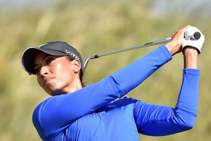 Cheyenne Woods at the Women's British Open on July 10, 2014.