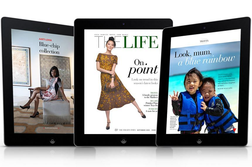 Issue 15 of The Life features stories on the latest Fall fashion trends, art collectors and the Maldives.