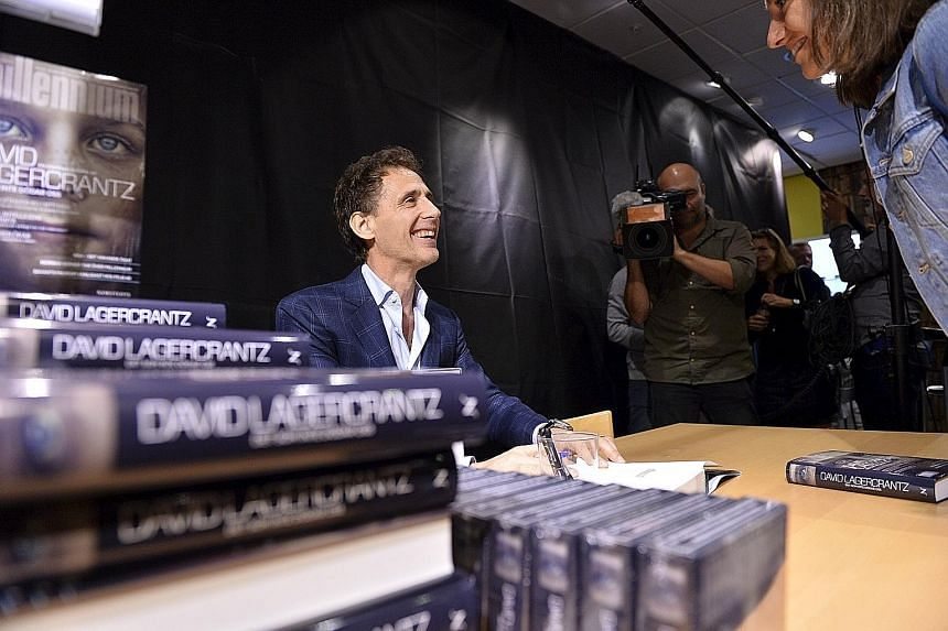 David Lagercrantz is the author of the fourth book in the Millennium trilogy featuring tattooed hacker Lisbeth Salander.
