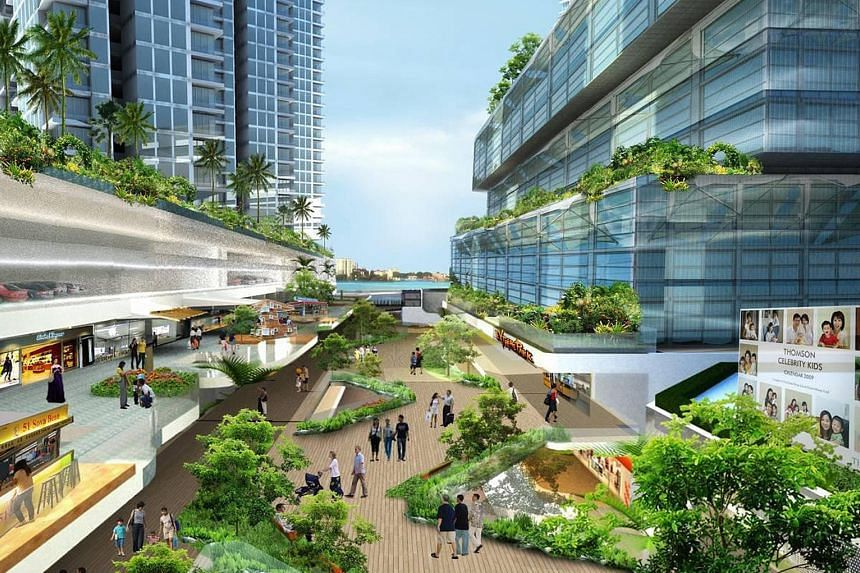 An artist's impression of Vantage Bay, the delayed integrated development project handled by Rowsley, in Iskandar Malaysia.