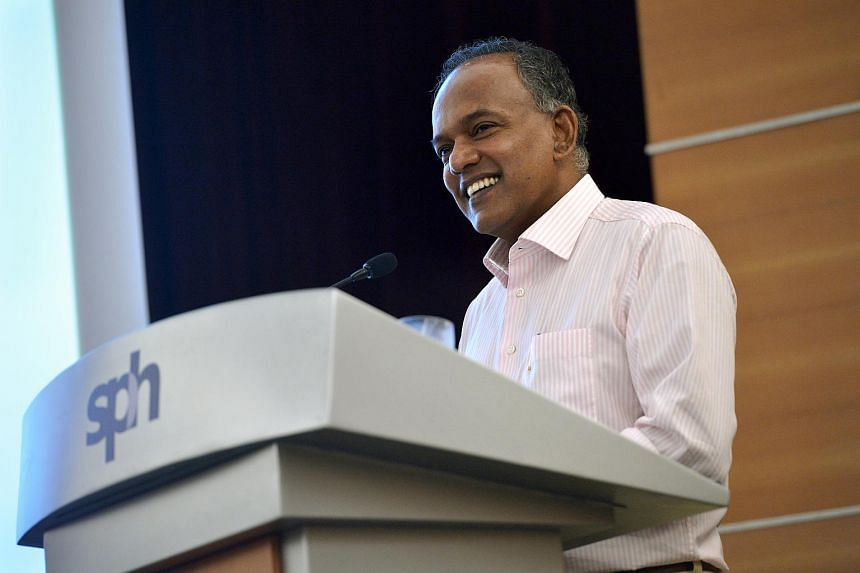 Mr Shanmugam said that a post by social activist Sangeetha Thanapal had misrepresented remarks he made at a Singapore Press Club event on Aug 27.