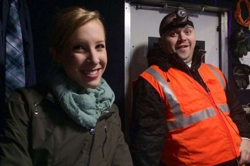 Alison Parker and Adam Ward, the two WDBJ7-TV employees who were killed.
