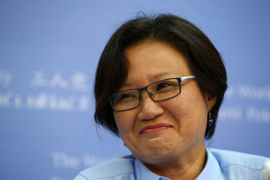 Workers' Party chairman Sylvia Lim.