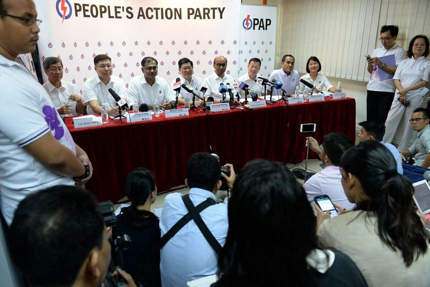 The ruling People's Action Party (PAP) presented the last of its candidates for the 89 seats, revealing its line-up for Aljunied GRC on Friday.