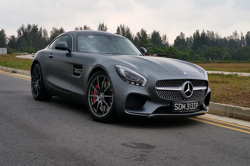 The new Mercedes-AMG GT S comes with a lot of sound and fury, which will attract more than its fair share of attention.