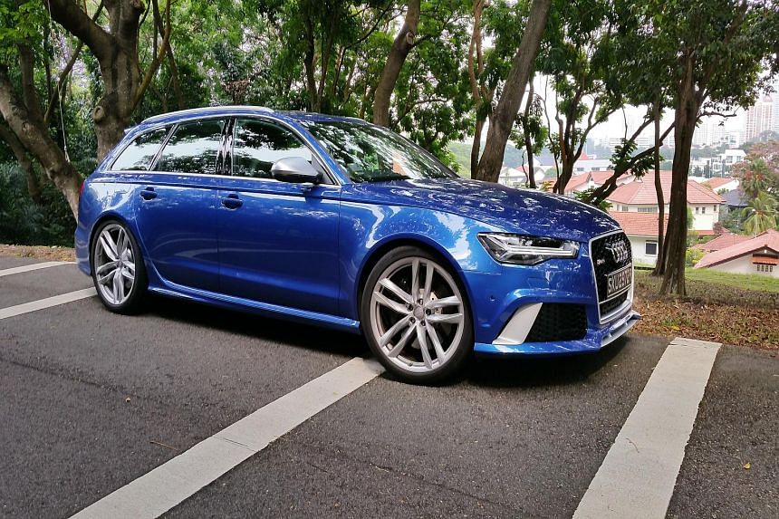 Design changes in the Audi RS6 make it look more aggressive and its tailgate opens up to a spacious boot.