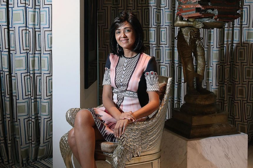 India's Aarti Lohia reveal how living here has shaped her taste in art and in turn her collections.